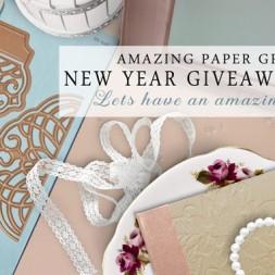 Amazing Paper Grace Giveaway Day 5 - www.amazingpapergrace.com