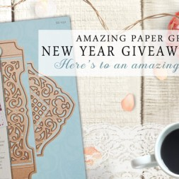 Amazing Paper Grace New Year Giveaway - Day 7 - www.amazingpapergrace.com