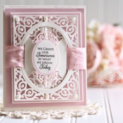 Card Making Ideas by Becca Feeken using Spellbinders Filigree Delight - www.amazingpapergrace.com