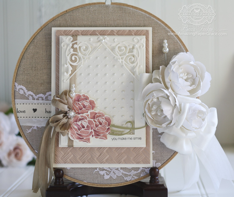 Gift Making Ideas by Becca Feeken using Spellbinders Layered Blooms Contour Die - www.amazingpapergrace.com