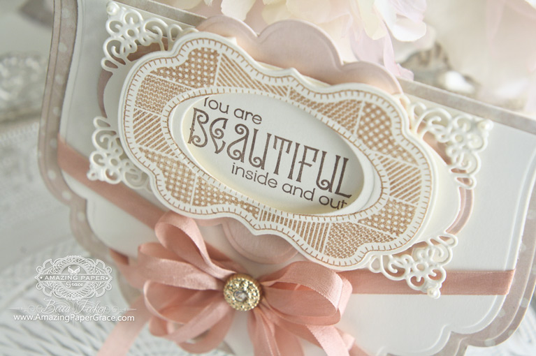 Card Making Ideas by Becca Feeken using Spellbinders Grand Labels Four, Spellbinders Labels Twenty, Spellbinders Radiant Rectangles and Spellbinders Labels Fourteen - www.amazingpapergrace.com