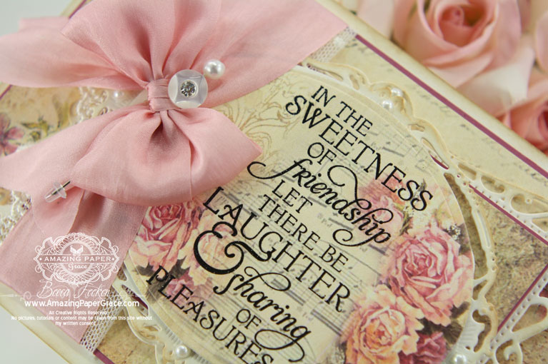 Card Making Ideas by Becca Feeken using Spellbinders Timeless Rectangles, Spellbinders Opulent Ovals, Spellbinders 5 x 7 Heirloom Legacy, Spellbinders Filigree Delight - www.amazingpapergrace.com