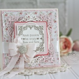 Card Making Ideas by Becca Feeken using Spellbinders Labels 42 Decorative Accents, Spellbinders A2 Divine Eloquence, Spellbinders Elegant Ovals, Spellbinders Majesty - www.amazingpapergrace.com