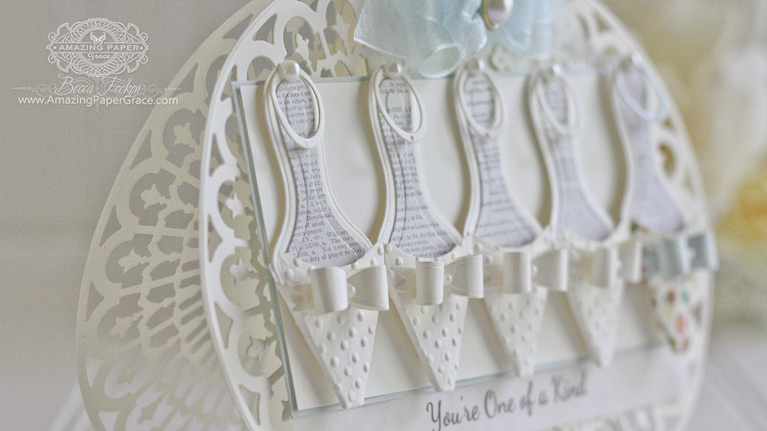 Amazing Paper Grace: S4-610 Ladies Shoe on Spellbinders Paper Arts designed by Becca Feeken