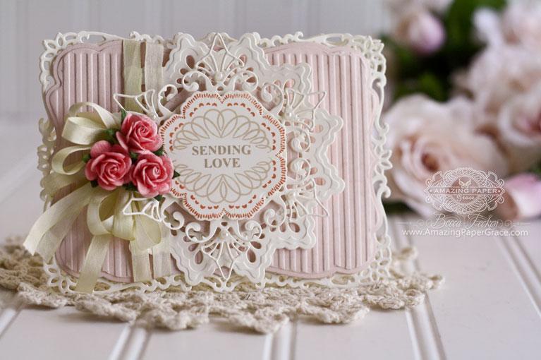 Card Making Ideas Love Part - 49: Card Making Ideas By Becca Feeken Using Spellbinders Decorative Labels  Eight, Spellbinders Labels Seventeen,