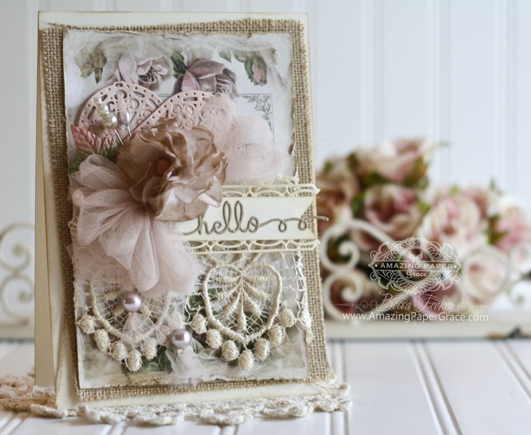 Card Making Ideas by Becca Feeken using Spellbinders Sentiments 5, Spellbinders Astoria Decorative Elements, Spellbinders Renaissance Tags One - full supply list at www.amazingpapergrace.com