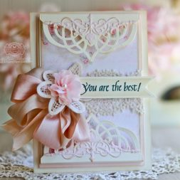 Friendship Card Making Ideas by Becca Feeken Using Quietfire Design - I Don't Tell You Often Enough and Spellbinders S6-078 Regal Allure - full supply list at www.amazingpapergrace.com