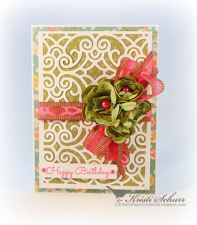 Spellbinders Designer Series Die ~ FILIGREE BOOKLET ~ S5-289~Amazing Paper Grace