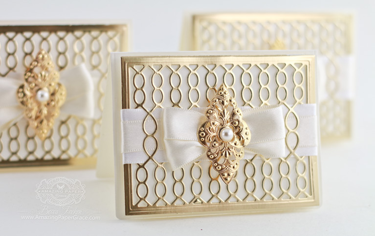 Introducing S4-793 Spellbinders Gossamer Knot Ensemble by Becca Feeken - information at www.amazingpapergrace.com