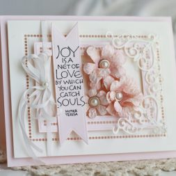 Card Making Ideas by Becca Feeken using Spellbinders Hemstitch Rectangles and Cinch and Go Flowers II - see full supply list at www.amazingpapergrace.com/?p=32374