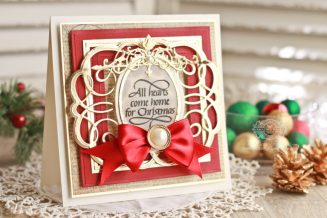Card Making Ideas by Becca Feeken using Quietfire Design - All Hearts Come Home, Spellbinders 6 x 6 Matting Basics A,Spellbinders 6 x 6 Matting Basics B,Spellbinders Pierced Squares, Spellbinders Swirling Grace, Spellbinders Classic Ovals LG, Spellbinders Classic Ovals SM, Spellbinders Regal Allure - see full supply list at www.amazingpapergrace.com/p=?32699