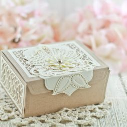 Box Made by Teresa M. Horner for www.amazingpapergrace.com using Venise Lace Collection - www.amazingpapergrace.com/?p=32806