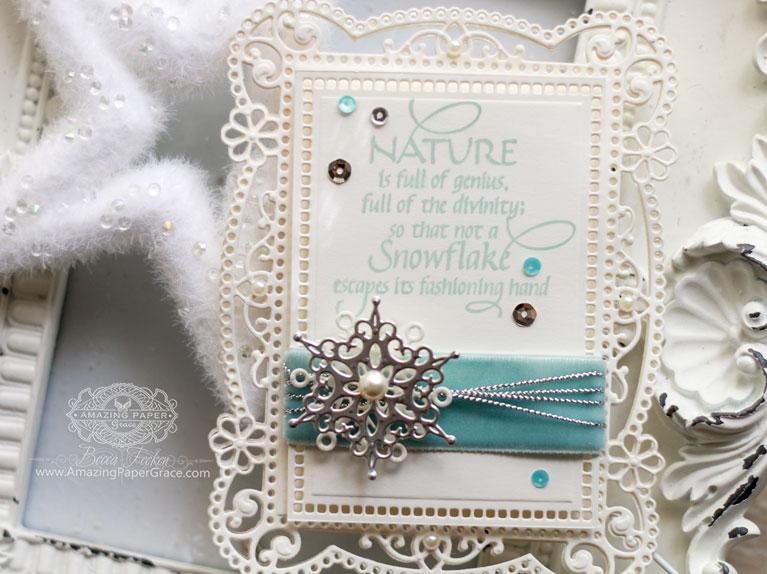 Card Making Ideas by Becca Feeken using Spellbinders Tallulah