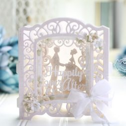 Sneak Peek 3D Vignettes by Amazing Paper Grace available 1-15-18 to retailers through Spellbinders