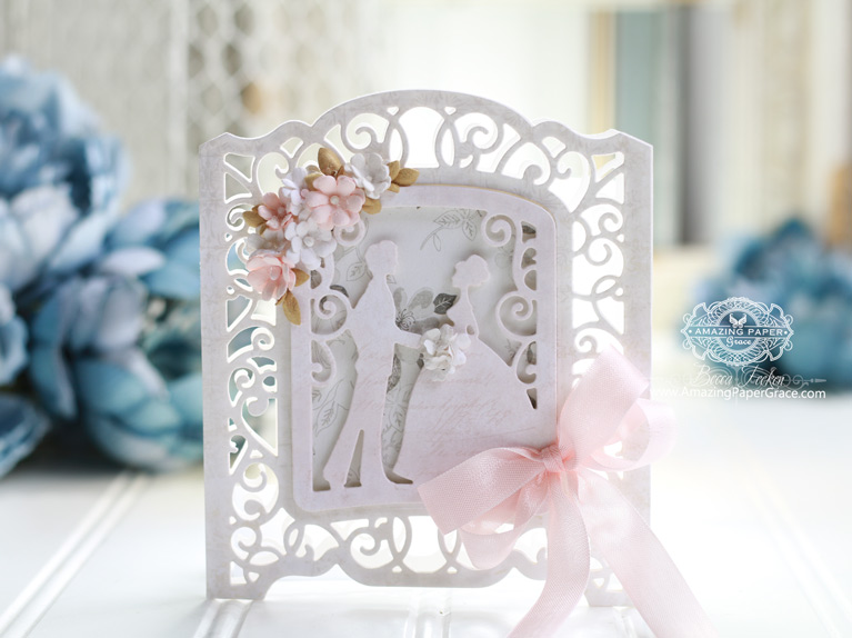 Sneak Peek 3D Vignettes by Amazing Paper Grace available 1-15-18 to retailers through Spellbinders