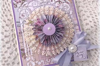 Card Making Ideas by Melissa Bove using Amazing Paper Grace 3D Vignettes and Grand Arch - see more info at www.amazingpapergrace.com/?p=33809