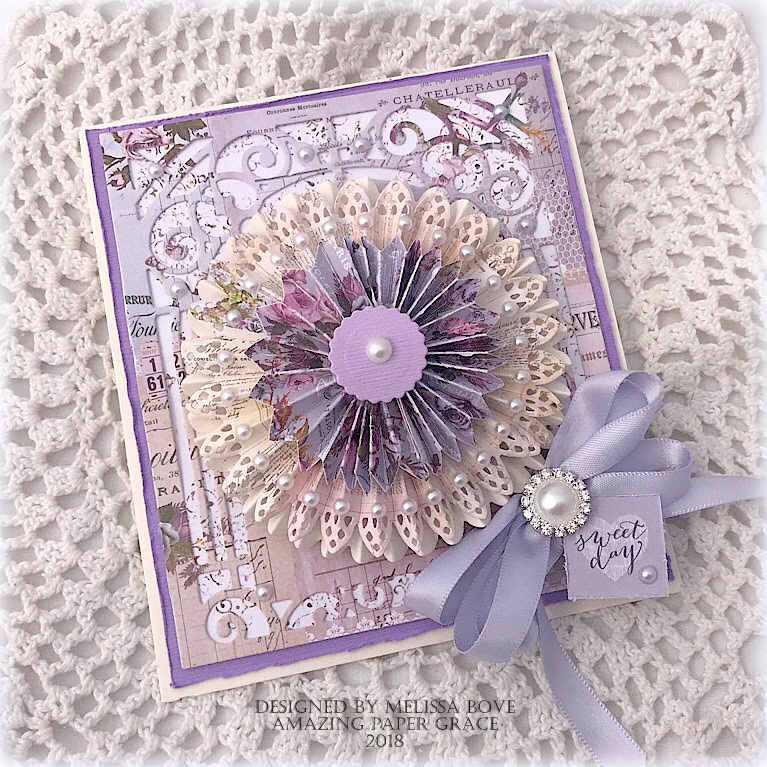 Card Making Ideas 2018 Part - 15: Card Making Ideas By Melissa Bove Using Amazing Paper Grace 3D Vignettes  And Grand Arch -