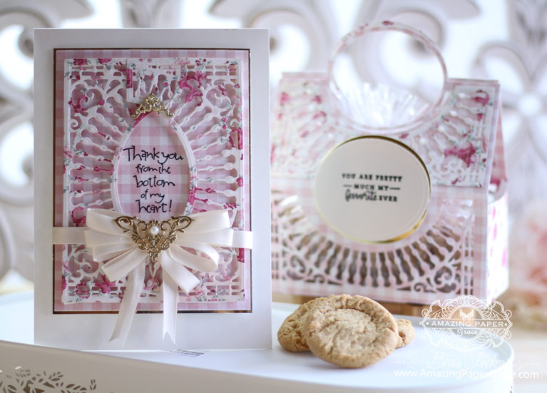 Amazing Paper Grace Die of the Month by Spellbinders - How to make the Softly Spoke