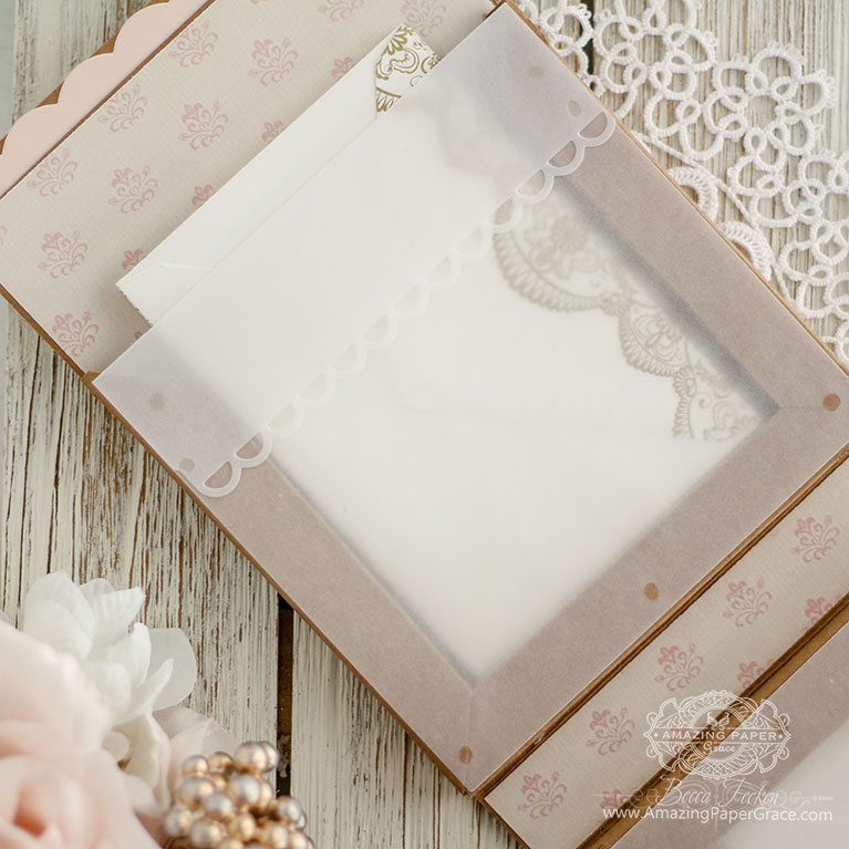 "3D Gift Making Ideas by Becca Feeken of Amazing Paper Grace using S4-981 1"" Shadowbox Frame - see project and links at www.amazingpapergrace.com/?p=34988"