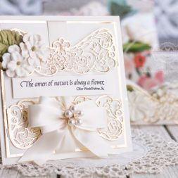 Amazing Paper Grace December 2019 Die of the Month - Rose and Filigree Duo Slip In - learn about this die at www.amazingpapergrace.com/?p=35572