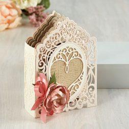 Amazing Paper Grace 3D Vignette Mini-Album Kit - I carry your heart - see details at www.amazingpapergrace.com/?p=35652