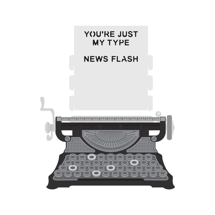 Amazing Paper Grace April 2020 Die of the Month - Pop-Up 3D Vignette Typewriter - learn about this die at www.amazingpapergrace.com/?p=36020