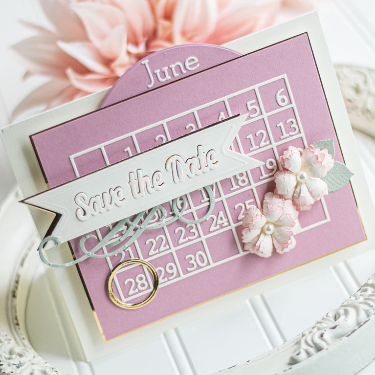 Amazing Paper Grace June 2020 Die of the Month - A2 Snip-It Grid and Calendar Creator - learn about this die at www.amazingpapergrace.com/?p=36113