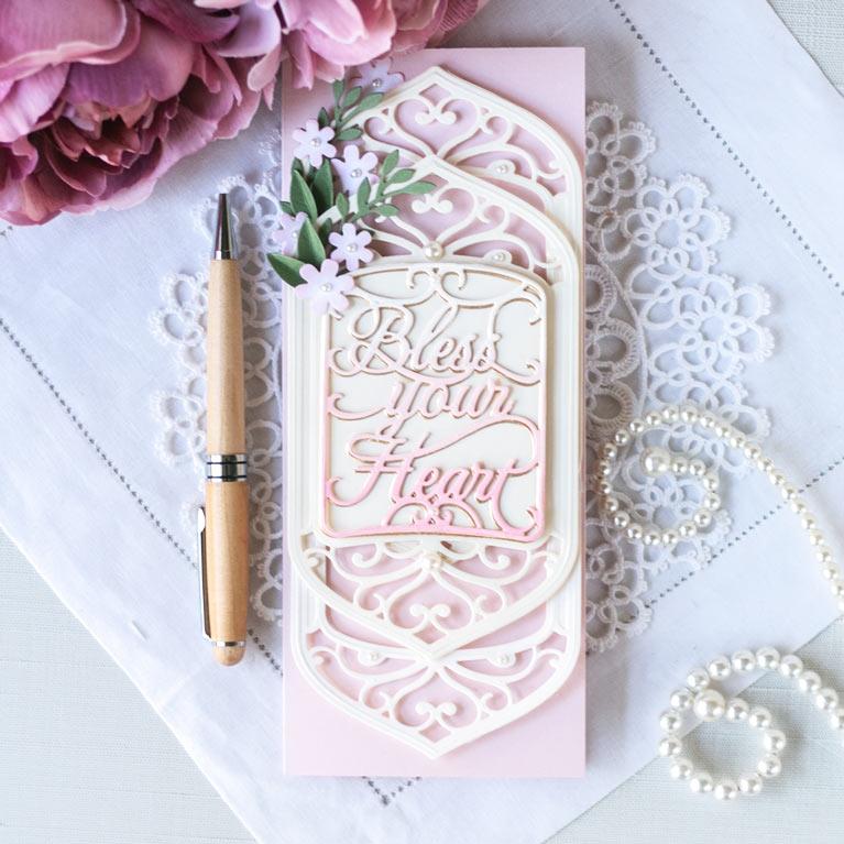 Introducing Amazing Paper Grace Collection - Beautiful Sentiment Vignettes - more details at www.amazingpapergrace.com/?p=37213