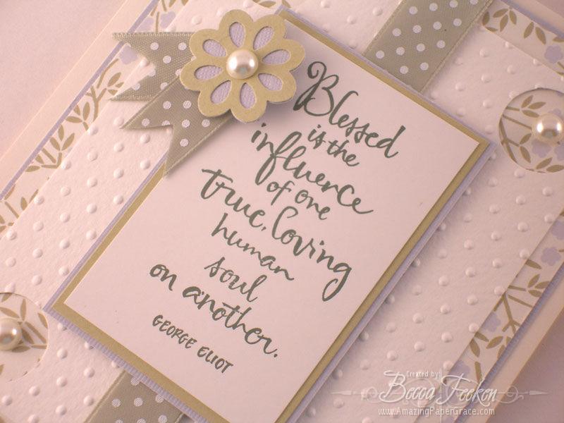 Amazing Paper Grace Becca Feeken Cardmaking Crafting Diecut