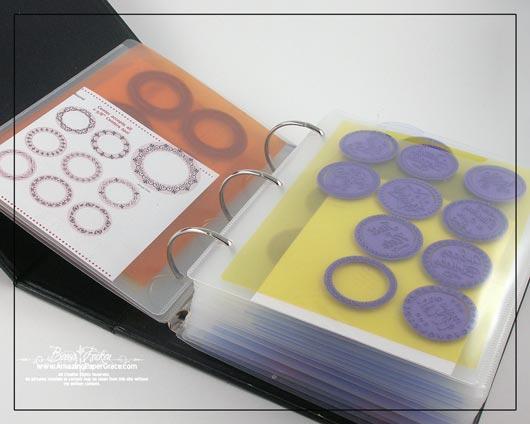 3 ring binder insert